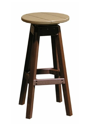 Poly Vinyl Bar Stool