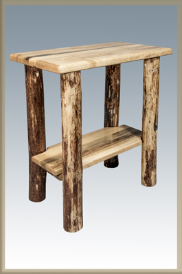 Glacier Country Chairside Table Amish Furniture Factory