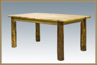 Glacier Country 4 Post Dining Table