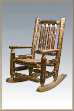 Glacier Country Child's Rocking Chair