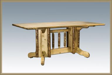 Glacier Country Double Pedestal Table