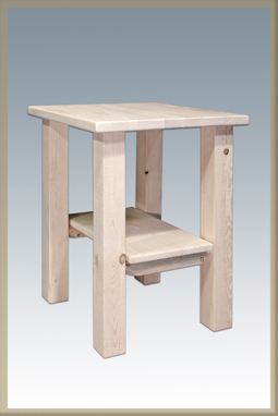 Homestead Nightstand with Shelf