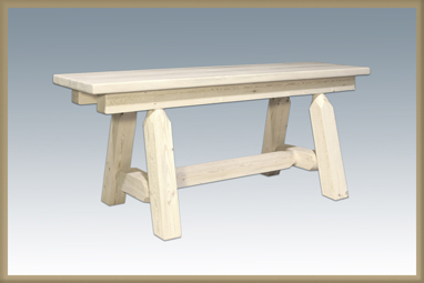 """Homestead 45"""" Plank Style Bench"""