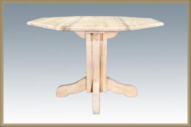 Homestead Center Pedestal Table