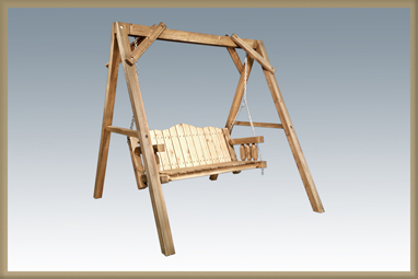 Homestead Lawn Swing with Frame