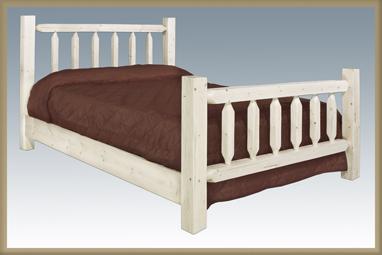 Homestead Log Bed