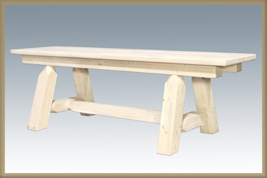 "Homestead 72"" Plank Style Bench"