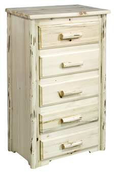 Montana  5 Drawer Dresser