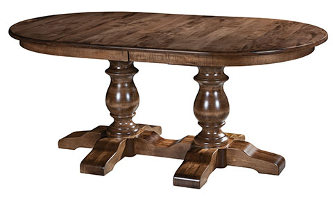 Alex Double Pedestal Dining Table