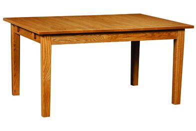 Amish Christy Legged Dining Table