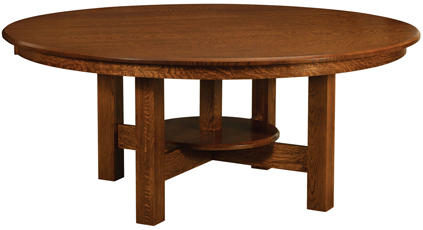 Conner Trestle Dining Table Amish Furniture Factory