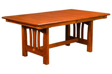 Mondovi Trestle Dining Table