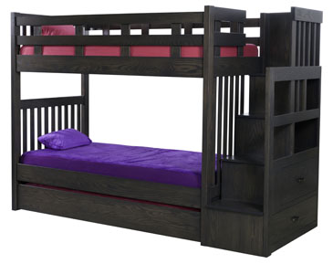 1720 Bunk Bed with Trundel