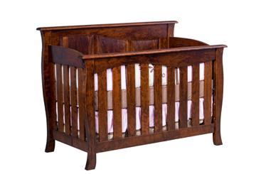 Cayman Convertible  Crib  Slat Front