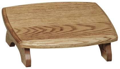 Slanted Traditional Footstool
