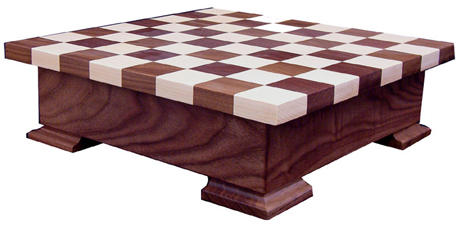 Checker Board  with Base