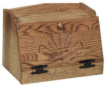 Engraved Bread Box
