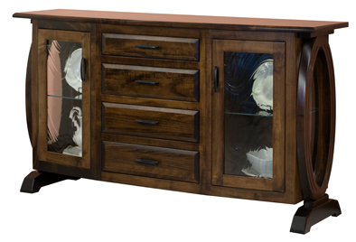 Saratoga 2 Door 4 Drawers Buffet