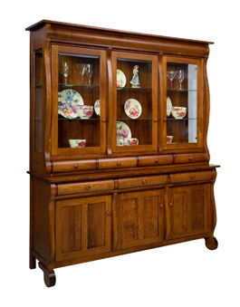 Hampton 3 Door Closed Deck Hutch