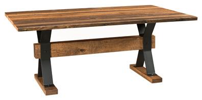 Barnloft Trestle Table