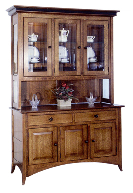 Shaker 3 Door Hill Hutch