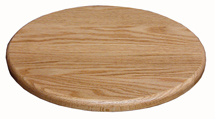 "12"" - 22"" No Rails Round Lazy Susan"