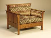 High Back Panel Chair