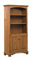 "Heritage 32"" Bookcase with Doors"