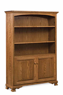 "Heritage 48"" Bookcase with Doors"