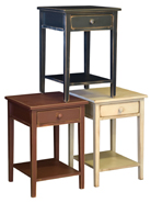 CL 1 Drawer 1 Shelf End Table