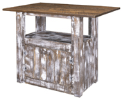 Gold Mine Glendale Kitchen Island