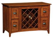 Monroe Wine Cabinet