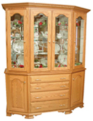 Cantilever Classic Feet Hutch