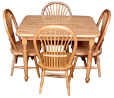 Kid's Rectangle Table & Sheaf Chair Sets
