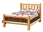 Fireside Rustic Econo Line Bed
