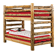 Fireside Rustic Econo Line Twin/Twin Bunk Bed