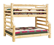 Fireside Rustic Econo Line Full/Twin Bunk Bed