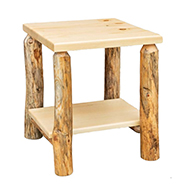 Fireside Rustic Econo Line End Table