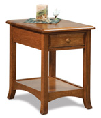 Carlisle Open End Table with Drawer