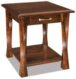Lexington Arc  Open End Table with Drawer