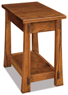 Modesto Open Chair Side End Table