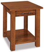 Timbra Open End Table with Drawer