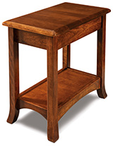 Carlisle Open Chair Side End Table