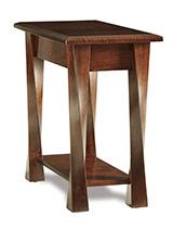 Lexington Arc Open Chair Side End Table
