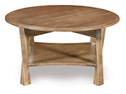 "Lexington Arc 38"" Round Coffee Table"