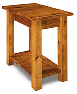 Timbra Open Chair Side End Table