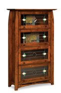 Boulder Creek 4 Door Barrister Bookcase