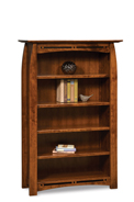 "Boulder Creek 4 Shelf 5"" Bookcase"