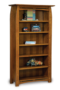 "Boulder Creek 5 Shelf 6"" Bookcase"