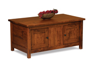 Centennial Enclosed Coffee Table with Doors